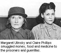 Margaret Utinsky and Claire Phillips, of the Philippine underground