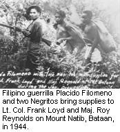 Placido Filomeno and Negrito guerrillas